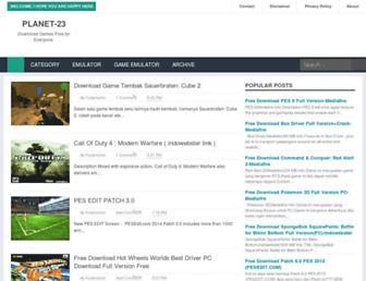 planet-23.blogspot.com screenshot