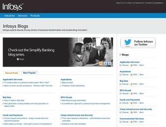 infosysblogs.com screenshot