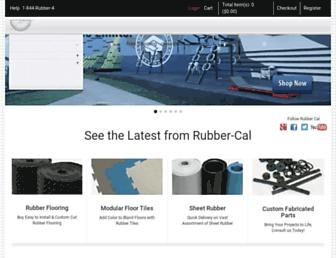 rubbercal.com screenshot