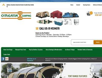 omearacamping.com screenshot