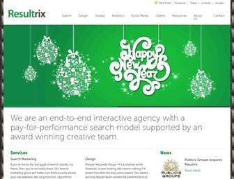 Thumbshot of Resultrix.com