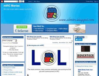 allmirc.blogspot.com screenshot