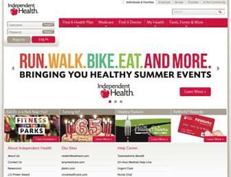 independenthealth.com screenshot