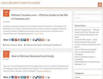 guides.uufix.com screenshot