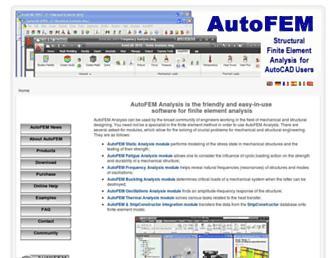 Thumbshot of Autofemsoft.com