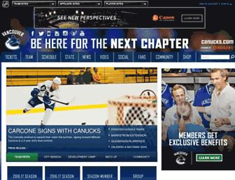 Thumbshot of Canucks.com