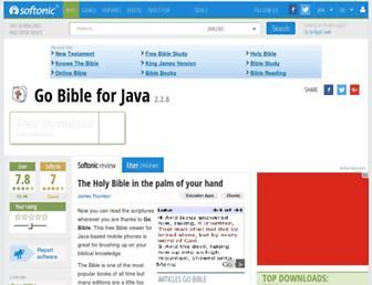 go-bible.en.softonic.com screenshot