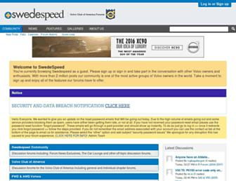 forums.swedespeed.com screenshot