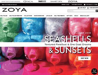 Thumbshot of Zoya.com