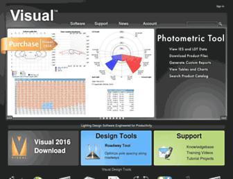 visual-3d.com screenshot