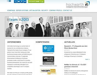 hochwarth-it.de screenshot