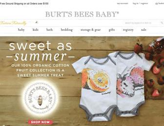 Thumbshot of Burtsbeesbaby.com