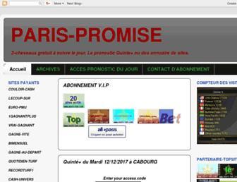 paris-promise.blogspot.com screenshot