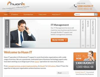 huonit.com.au screenshot