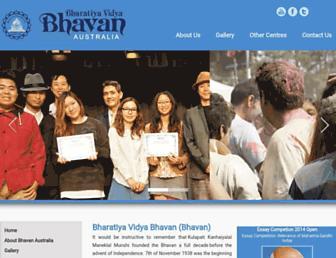 bhavanaustralia.org screenshot
