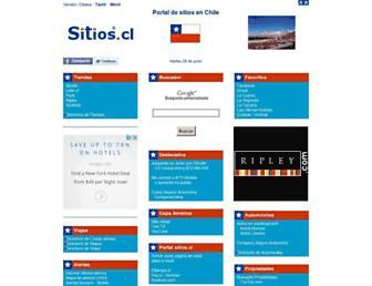 sitios.cl screenshot