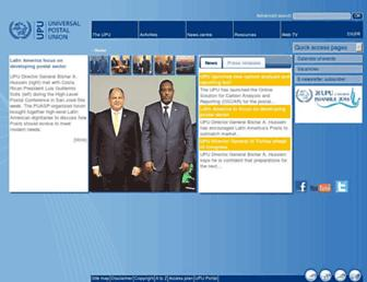 Thumbshot of Upu.org