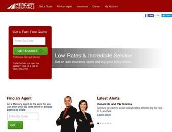 Thumbshot of Mercuryinsurance.com