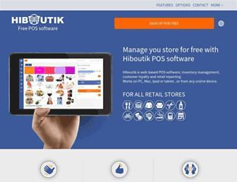 hiboutik.co.uk screenshot