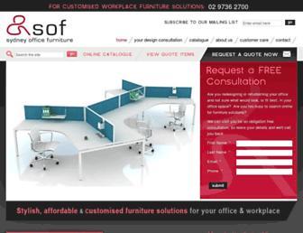 sydneyofficefurniture.com.au screenshot