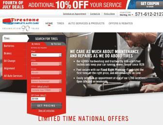 Thumbshot of Firestonecompleteautocare.com
