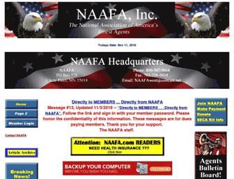 naafa.com screenshot