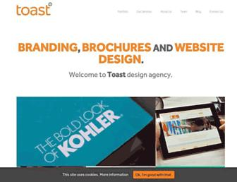 toastdesign.co.uk screenshot
