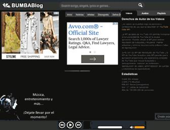 bumbablog.com screenshot
