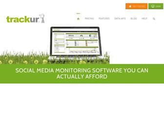 Thumbshot of Trackur.com