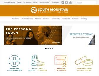 Thumbshot of Southmountaincc.edu