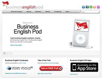 Thumbshot of Businessenglishpod.com