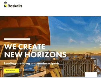 boskalis.com screenshot