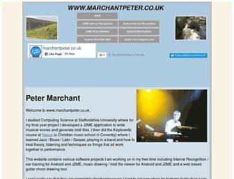 marchantpeter.co.uk screenshot
