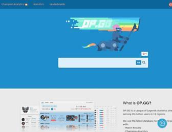 tr.op.gg screenshot