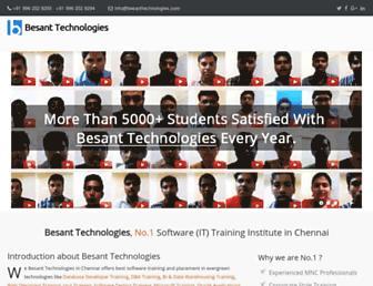 besanttechnologies.com screenshot