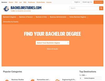 bachelorstudies.com screenshot