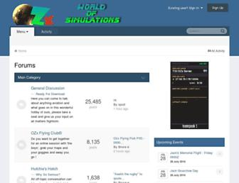 Main page screenshot of aussiex.org