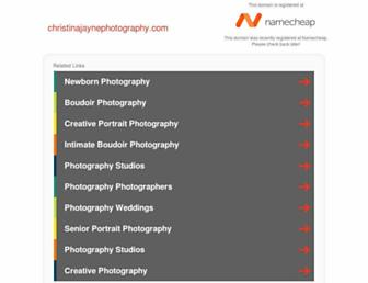 christinajaynephotography.com screenshot