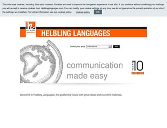 helblinglanguages.com screenshot
