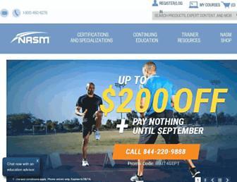 Thumbshot of Nasm.org