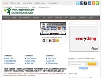 jobsdhaba.com screenshot