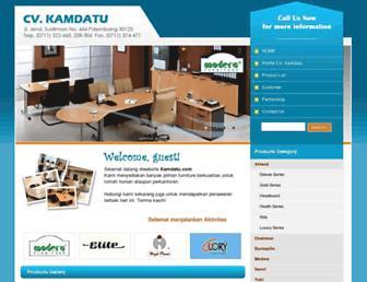 kamdatu.com screenshot