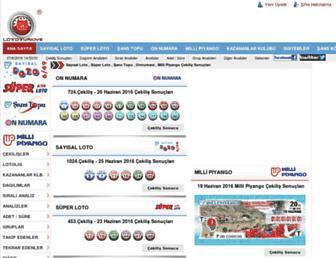 lototurkiye.com screenshot