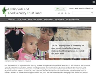 lift-fund.org screenshot