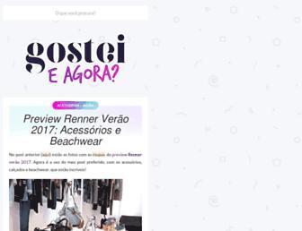 gosteieagora.com screenshot