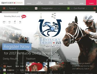 Thumbshot of Kentuckyderby.com