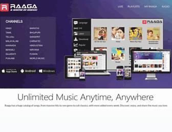 Thumbshot of Raaga.com