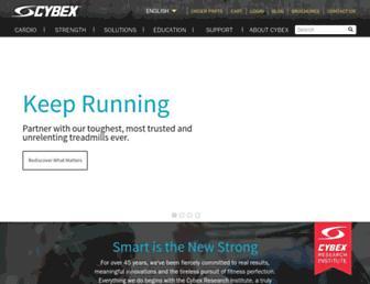 cybexintl.com screenshot