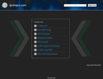 djrohitpro.com screenshot