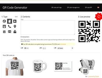Thumbshot of Qrserver.com